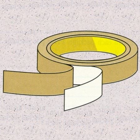 double sided polyester tape clear