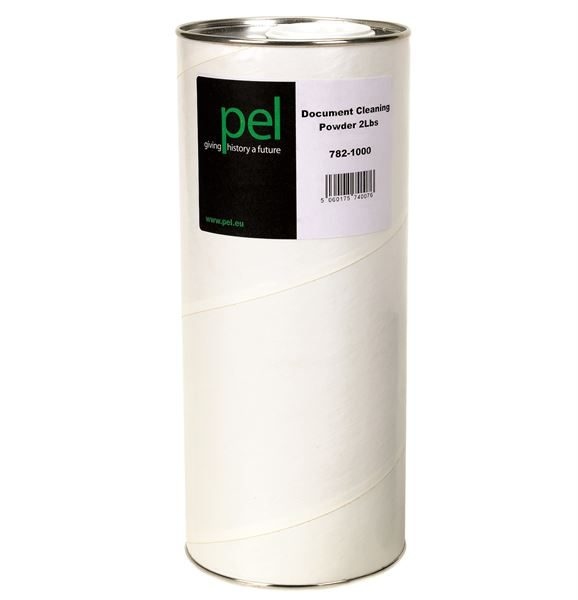 Document cleaning powder