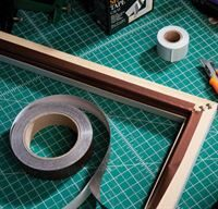 Corrosion resistant frame sealing tape